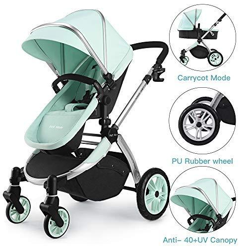 Multi cochecito 2 en 1 Carrito Bebe Hot Mom silla de paseo el capazo...