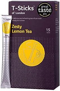 T-Sticks of London - Zesty Lemon Tea - 15スティク入り/ 紅茶 スティック 英国 紅茶 フレーバーティー