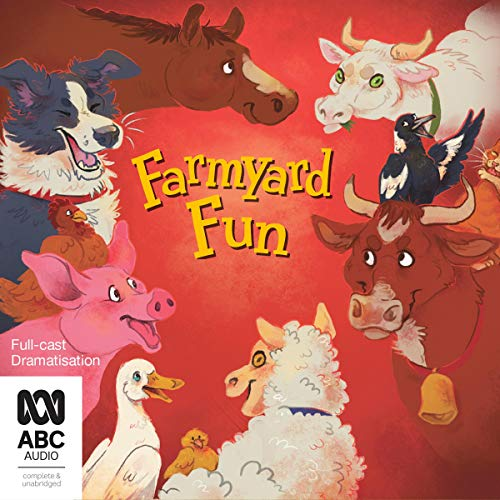 Farmyard Fun audiobook cover art
