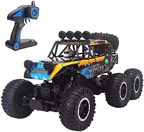 gyx Rc Offroad Car Control Remoto Coche Rc Monster Truck Neumáticos y ruedas 1/10 RC Coches para niños Truco de alta velocidad RC Off-Road Crawlers Car