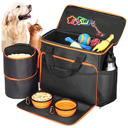 BABYLTRL Dog Travel Bag - Airline Approved Pet Food Carrier Bag for Dogs Now $22.49 (Was $45)