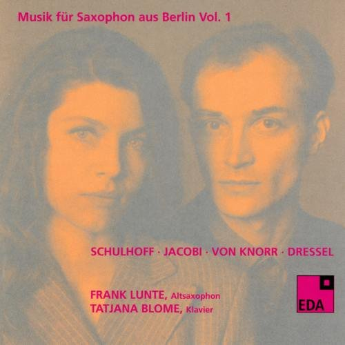 Music for Saxophone from Berlin, Vol. 1: 1930-1932