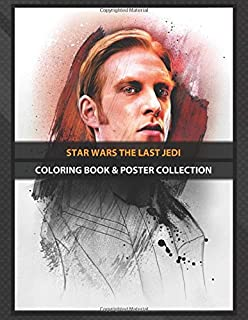 Coloring Book & Poster Collection: Star Wars The Last Jedi Hux Comics