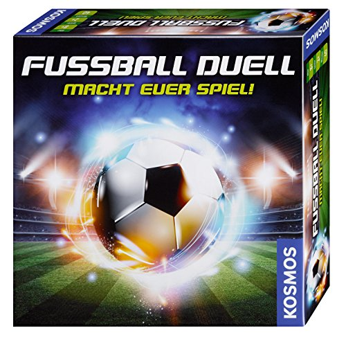 Kosmos FKS6977920 697792 Fußball-Duell, Mach dein Spiel, Taktisches Fußballspiel als Brettspiel, ab 8 Jahre