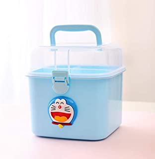Multi-Layer Drug Storage Box First Aid Kit Portable Home Multi-Function Medicine Box A Variety of Annacboy (Color : D, Siz...