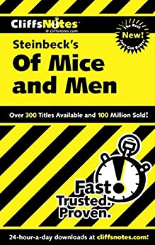 CliffsNotes on Steinbeck's Of Mice and Men (Cliffsnotes Literature Guides) by [Susan Van Kirk]