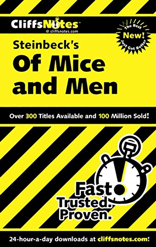 CliffsNotes on Steinbeck's Of Mice and Men (Cliffsnotes Literature Guides) (English Edition)