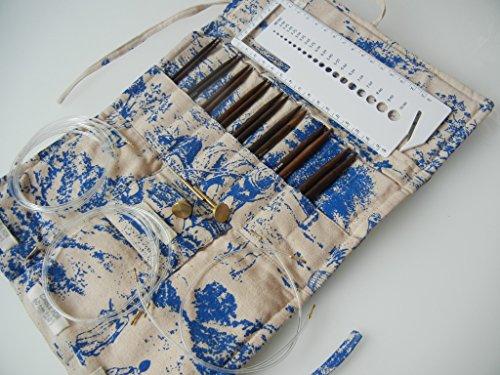 Pony Rosewood Multi Size Interchangeable Circular Knitting Needles