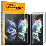 NEWZEROL 6 Stück TPU Bildschirmschutzfolie Kompatibel für Samsung Galaxy Z Fold 3 5G Folie Enthält 3 Stück Innen Bildschirm & 3 Stück Außen Bildschirm schutzfolie,Umfassender Schutz [Maximale Abdeckung]