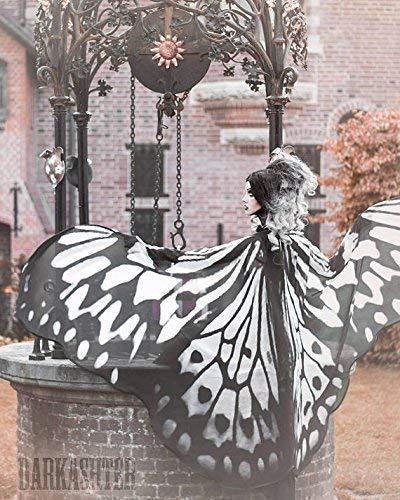 Schmetterling Flügel Nymphe Mantel Kostüm