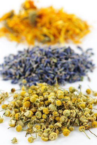 Herbal Bath Tub Tea Blend of Herbs : Helichrysum Italicum - Lavender -...