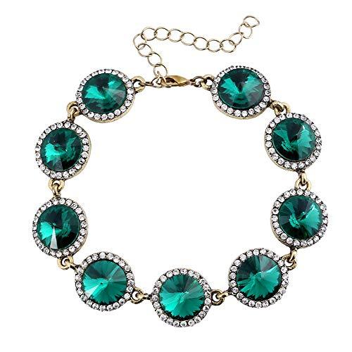 KKVK Künstliche Edelstein Armband Homme Femme Charms Perlen Armbänder Frauen Schmuck A One Size
