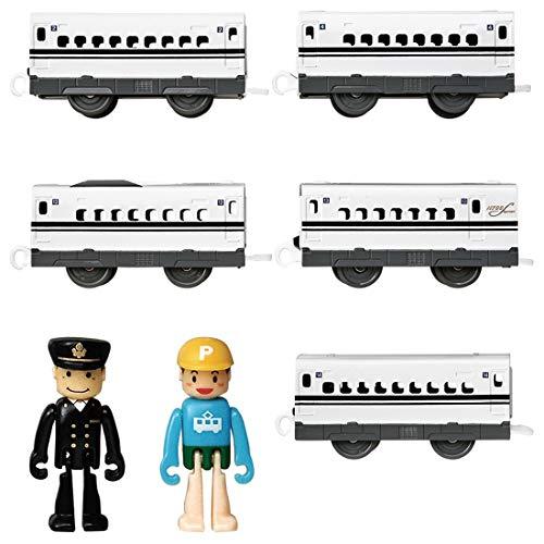 プラレール 長編成で走らせよう!新幹線 N700S確認試験車 中間車セット