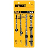 DEWALT Masonry Drill Bit Set, Percussion, 4-Piece (DW5204),Silver
