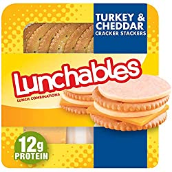 Lunchables Turkey & Cheddar with Crackers Lunch Combination (3.2 oz Tray)