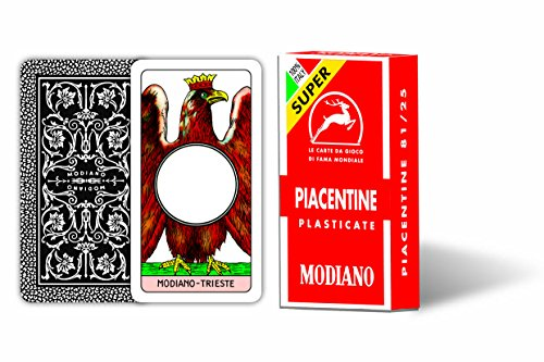 Modiano- Carte da Gioco Piacentine 81/25 Super, 300051