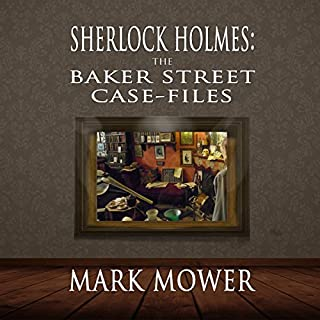 Sherlock Holmes: The Baker Street Case Files audiobook cover art