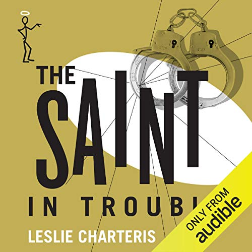 The Saint in Trouble audiobook cover art