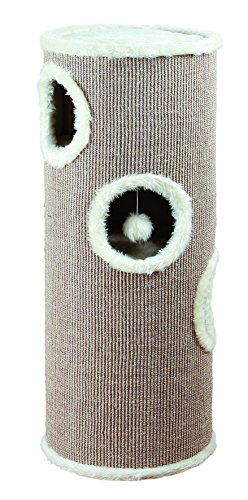 Trixie 4338 Cat Tower Edoardo, 100 cm, taupe/creme