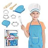 Dreamingbox Spielzeug für Jungen 3 4 5 6 7 8 Jahre, Kinderküche Geschenke für Mädchen ab 3-12 Jahre Kinder Schürze Kinder Spiel für 3-12 Jahre Jungen Spielzeug Mädchen 3-12 Jahre Spielküche Zubehör