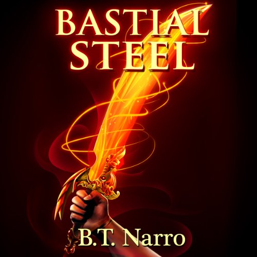 Bastial Steel audiobook cover art