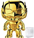 Marvel Studios 10th Anniversary - Ant-Man (Gold Chrome) Funko Pop! Vinyl Figure (Includes Compatible...