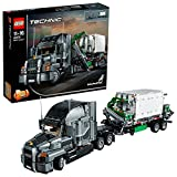 LEGO 42078 Technic Mack Anthem 2 in 1 Garbage Truck Model, Advanced Building Set