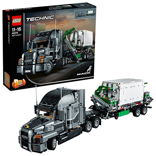 Lego 6213706 Lego Technic   Lego Technic Mack Anthem - 42078, Multicolor