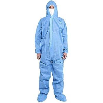 V/êtements de Protection de s/écurit/é Combinaison jetable V/êtements antipoussi/ère V/êtements disolement Travail Costume One-pi/èces Non-tiss/és