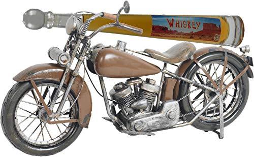 handgemachtes Model-Motorrad - braunes, originelles