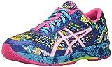 ASICS Women's Gel-Noosa Tri 11 Running Shoe, Asics Blue/White/Hot Pink, 6.5 M US