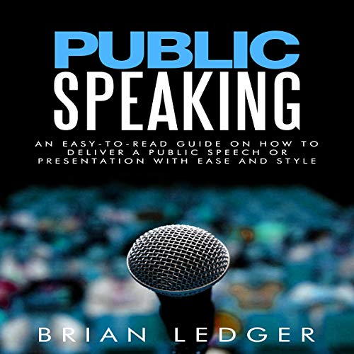 Public Speaking audiobook cover art