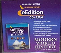 McDougal Littell World History: Patterns of Interaction California: eEdition CD-Rom Grades 9-12 Modern World History 2006 by MCDOUGAL LITTEL (2005-05-25)
