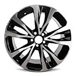 Road Ready Car Wheel For 2017-2019 Toyota Corolla 17 Inch 5 Lug Black Machine Face (Diamond Cut) Aluminum Rim Fits R17 Tire - Exact OEM Replacement - Full-Size Spare