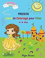 Livre de coloriage pour filles: Belle-Merveilleux-Magnifique-Livre d'activités de Coloriage Amusantes pour Filles et Images Mignonnes pour Fille et Enfants de 4-8 ans