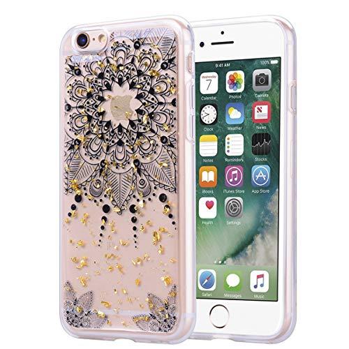 Xifanzistore - Carcasa para iPhone 6 de 4,7 pulgadas, TPU silicona, Mandalas., iPhone 6 plus/6S Plus (5.5')