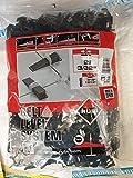 Rubi 2854 bridas, Blanco, 3-12 mm, Set de 400 Piezas