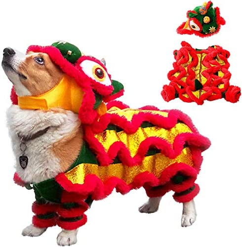 Chinese dragon dog costume _image1