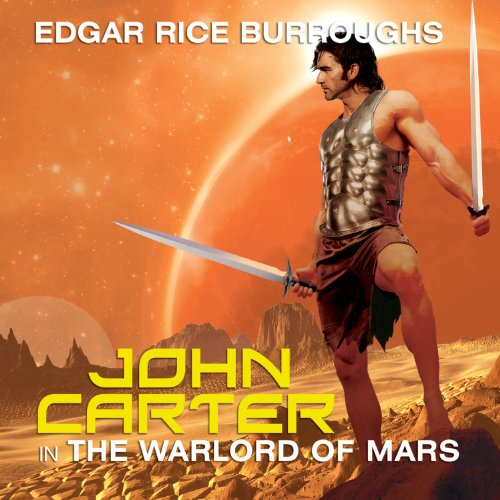 John Carter in The Warlord of Mars cover art
