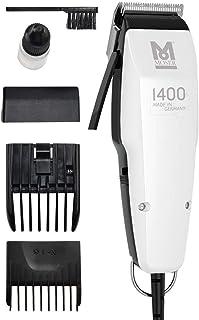comprar comparacion Moser 1400 Silver Edition - Cortapelos con cable, blanco