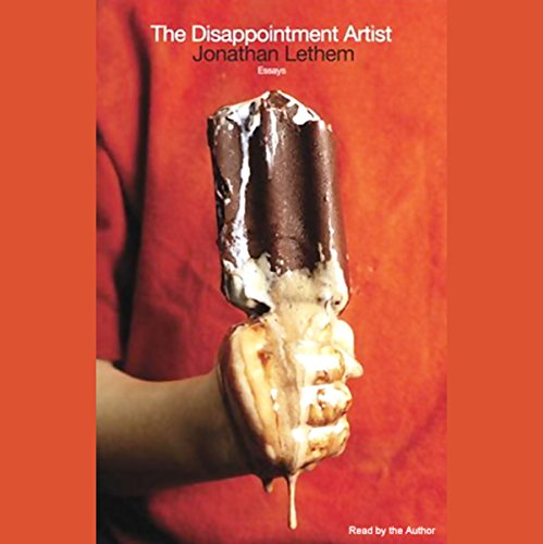 The Disappointment Artist audiobook cover art