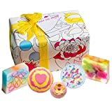 Bomb Cosmetics Colour Me Happy Handmade Wrapped Bath and Body Gift Pack, Contains 5-Pieces, 450 g