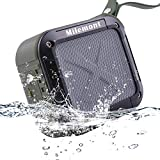 Milemont Shower Bluetooth Speaker, Wireless Waterproof Bluetooth Speaker, Lightweight and Portable Outdoor Stereo Wireless Bluetooth Speaker
