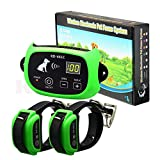 N\A Wireless pet dog electronic fence system with rechargeable transmitter and receiver
