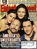 Entertainment Weekly July 20, 2001 Julia Roberts & Catherine Zeta-Jones & Billy Crystal & John Cusack/America s Sweethearts, Marlon Brando