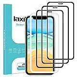 laxikoo 3 Pezzi Vetro Temperato per iPhone 11 /iPhone XR, Copertura Completa Pellicola Vetro in Pellicola Protettiva Con Cornice di Allineamento Durezza 9H Protezione Schermo per iPhone 11/ XR - 6.1''
