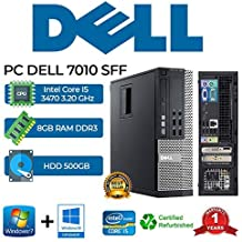 PC DELL 7010 SFF Intel Core i5 3470 3.20Ghz/RAM 8GB/500GB/
