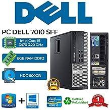 PC DELL 7010 SFF Intel Core i5 3470 3.20Ghz/RAM 8GB/500GB/