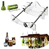 Glass Bottle Cutter, TOPAUP 4 in 1 Bottle Cutter Machine Tools for Wine