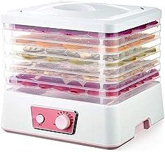 Séchées 250W 5 plateaux avec sèche alimentaire fabricant Jerky avec contrôle de la température 35-70 ° C, facile à nettoye...